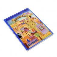 Soft Cover Emanuel Writing Pad - Jerusalem (Medium)  72226-1