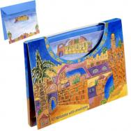 10 Notelets With Envelopes - Jerusalem (Large)  72318.2