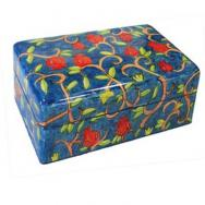 Small Jewelry Box - Pomegranates BS-6