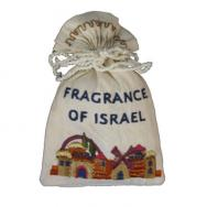 Embroidered Havdalah Spice Bag and Cloves - Jerusalem Fragrance BBE-1