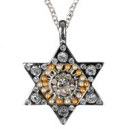Star of David Necklace - Silver NST-5