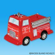 3in.-Pull Back Fire Engine-Vehicles-DOZEN by Rhode Island Novelty