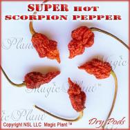 Dried Trinidad Scorpion Pepper