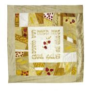 Raw Silk Huppah - Gold HP-2
