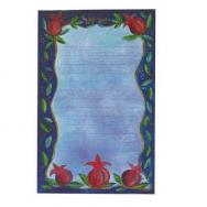 Magnetic Notepad - Pomegranates (Small) MS-3