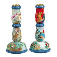 Shabbat Candlestick (Medium) - Figures MCS-2