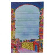 Magnetic Notepad - Jerusalem (Large) ML-1