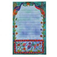 Magnetic Notepad - Flowers (Large) ML-2