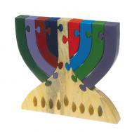 Childrens Puzzle - Menorah PZW-9