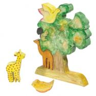 Childrens Puzzle - Tree and Animals PZW-12