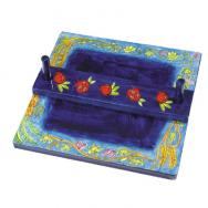 Napkin Holder - The Seven Species NH-3
