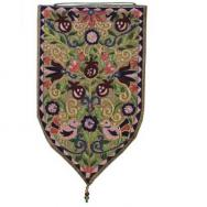Small Shield Tapestry - Oriental - Gold WSA-5G