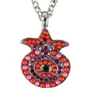 Pomegranates Necklace - Red NPM-3