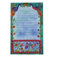 Magnetic Notepad - Flowers (Small) MS-2