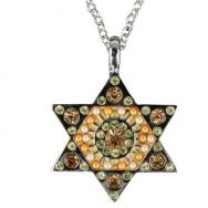 Star of David Necklace - Gold NST-4