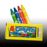 """Kids Rule"" Animal Theme Crayons by Fun Express"