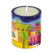Memorial (Yahrzeit) Candle Holder - Jerusalem NN-1