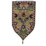 Large Shield Tapestry - Oriental - Gold WSB-5G