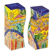 Salt and Pepper Shaker - Jerusalem Oriental SA-7