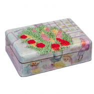 Medium Jewelry Box - Flowers BM-6