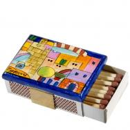 Match Box Holder - Tower of David MBS-3