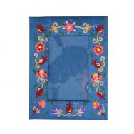 Embroidered Picture Frame (Single) - Flowers FES-3