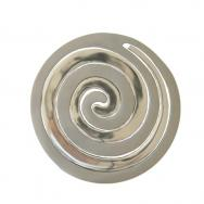 Aluminum Two Pieces Trivet - Snail Silver MHD-3
