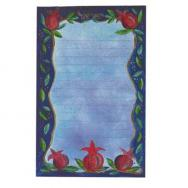 Magnetic Notepad - Pomegranates (Large) ML-3