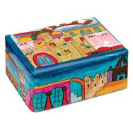 Shabbat Travel Candlestick Box - Jerusalem BCS-1