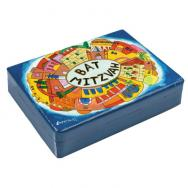 Wooden Bat Mitzvah Box - Jerusalem Blue BMT