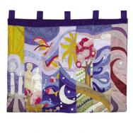 Extra Large Wall Hanging - The Seven Days of Creation WXL-1