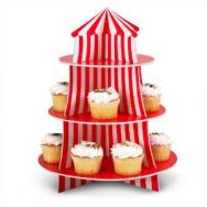 Big Top Cupcake Holder by Fun Express