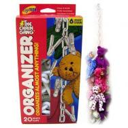 Original Chain Gang Toy Organizer - White by Toytech